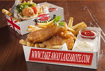 Fish and Chips Costa Teguise Takeaway, Lanzarote - Best Fish and Chips Delivery - Fish and Chips Costa Teguise Takeaway