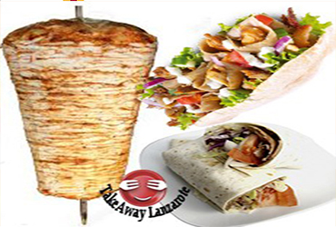 Playa Blanca Lanzarote takeaway food and drinks, best takeaway - Kebab Takeaway Abbasid